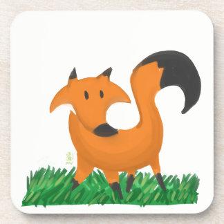 Fox garden coaster