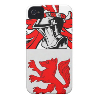 Fox (German) Coat of Arms iPhone 4 Covers