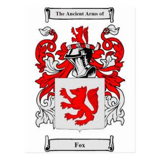 Fox (German) Coat of Arms Postcard