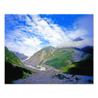 Fox Glacier NZ Photo Print