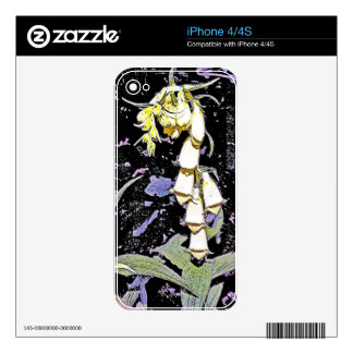 Fox Glove Decals For The iPhone 4S