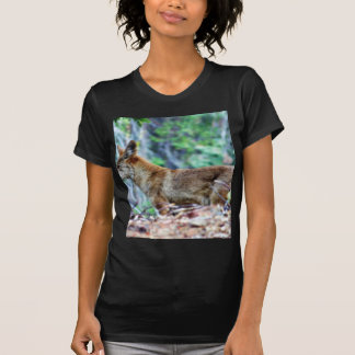 Fox gris camisetas