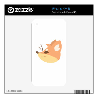 Fox Head Skins For The iPhone 4S