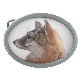 Fox Hebilla Cinturon Oval