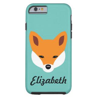 Fox hermoso funda para iPhone 6 tough