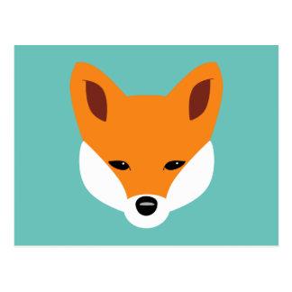 Fox hermoso postal