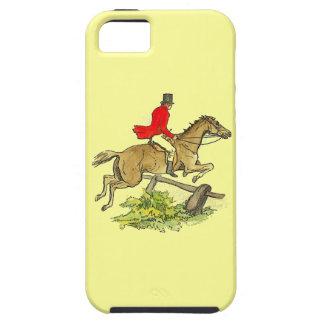 Fox Hunt Jumper Hunter Horse Riding Custom Color iPhone 5 Cases
