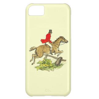 Fox Hunt Jumper Hunter Horse Riding Custom Color iPhone 5C Cover