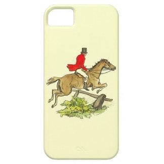 Fox Hunt Jumper Hunter Horse Riding Custom Color iPhone 5 Case
