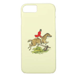 Fox Hunt Jumper Hunter Horse Riding Custom Color iPhone 7 Case
