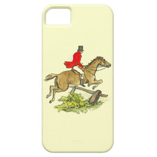Fox Hunt Jumper Hunter Horse Riding Custom Color iPhone SE/5/5s Case