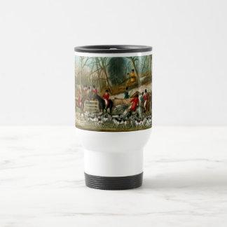Fox Hunting 1 Travel Mug