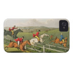 Fox Hunting, aquatinted by I. Clark, pub. by Thoma Case-Mate iPhone 4 Case
