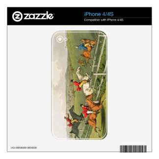 Fox Hunting, aquatinted by I. Clark, pub. by Thoma Decals For The iPhone 4