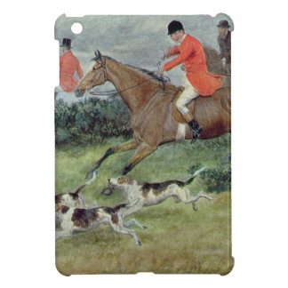 Fox Hunting in Surrey, 19th century Cover For The iPad Mini