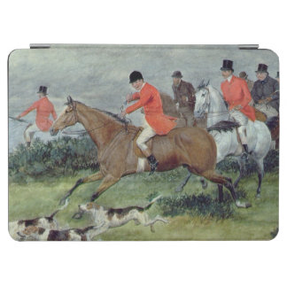 Fox Hunting in Surrey, 19th century iPad Air Cover