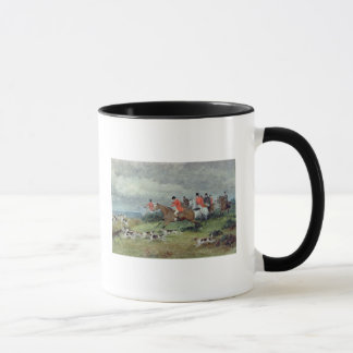 Fox Hunting in Surrey, 19th century Mug