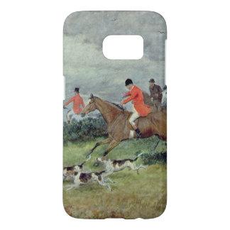 Fox Hunting in Surrey, 19th century Samsung Galaxy S7 Case