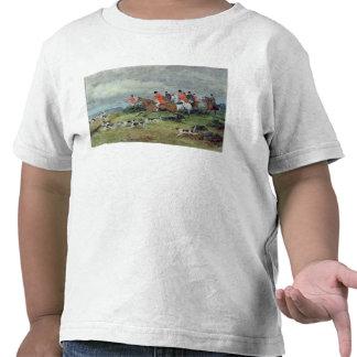 Fox Hunting in Surrey, 19th century Tshirts
