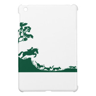 Fox Hunting Silhouette iPad Mini Cases