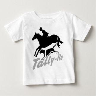 Fox Hunting Tally-Ho Baby T-Shirt