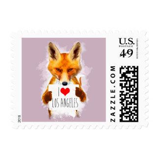 Fox – I Love Los Angeles! Postage