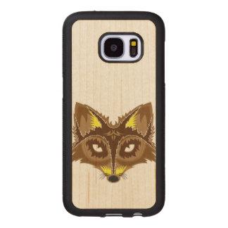 Fox Illustration Wood Samsung Galaxy S7 Case