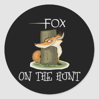 Fox Image Classic Round Sticker