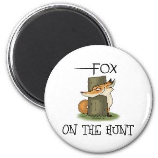 Fox Image Refrigerator Magnet