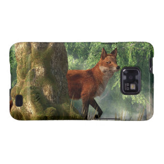 Fox in a Forest Galaxy SII Cases