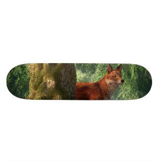 Fox in a Forest Custom Skateboard