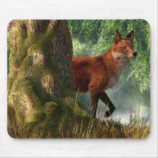 Fox in a Forest Mouse Pad
