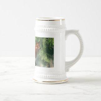 Fox in a Forest 18 Oz Beer Stein