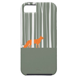 Fox in Birches Phone Cover