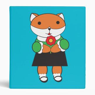 Fox in Dress Binder