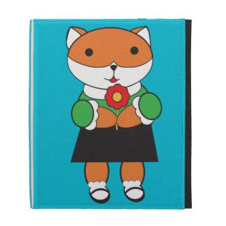 Fox in Dress iPad Cases