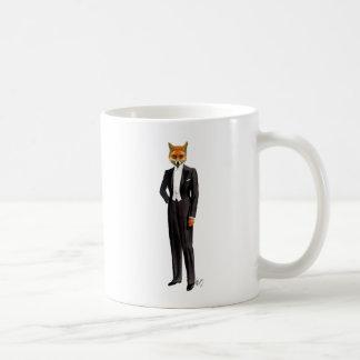 Fox In Evening Suit Full Coffee Mug