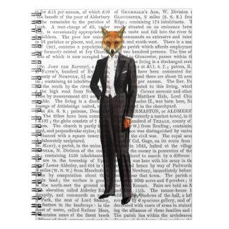 Fox In Evening Suit Full Notebook