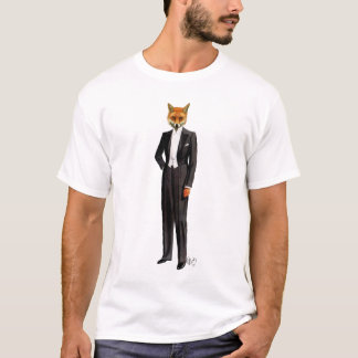Fox In Evening Suit Full T-Shirt
