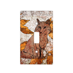 Autumn Leaves Wall Plates Light Switch Covers Zazzle