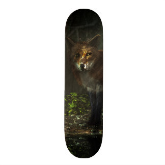 Fox in the Deep Forest Skateboard
