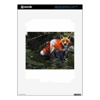 Fox in the Forest Decals For iPad 3