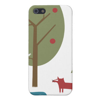 Fox in the Forest iPhone 5 Case