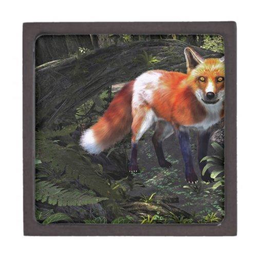 Fox in the Forest Premium Jewelry Box