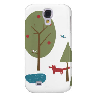 Fox in the Forest Samsung Galaxy S4 Cases