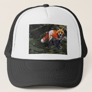 Fox in the Forest Trucker Hat