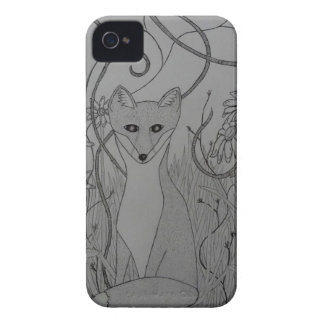Fox In The Grass Case-Mate iPhone 4 Cases