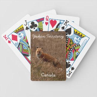 Fox in the Grass; Yukon Territory Souvenir Playing Cards