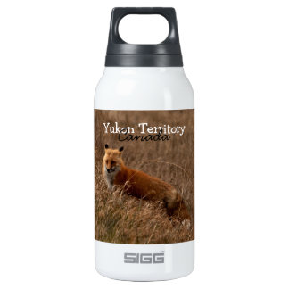 Fox in the Grass; Yukon Territory Souvenir SIGG Thermo 0.3L Insulated Bottle