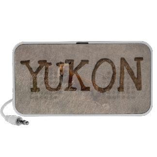Fox in the Grass; Yukon Territory Souvenir Travel Speakers